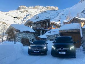 Transport privé et navette vers et depuis Courchevel - Val d'Isere - La Plagne - Les Arcs - Tignes - la Rosiere